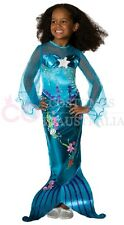 Rubie's Girls Blue Magical Pink Little Mermaid Costume Princess Fancy Dress