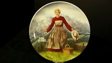 1st in the Series 'The Sound of Music' 1986 Knowles  Collector Plate w/Box + COA