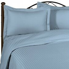 100% Egyptian Cotton Fitted Sheet Set 3 Pcs 1000 TC Full Size @Made in India