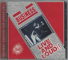 THE BUSINESS - LIVE AND LOUD - (still sealed cd) - MAYO CD 557