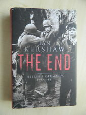 The End Hitler's Germany 1944-45 by Ian Kershaw Signed Georg Diers Tiger Tank
