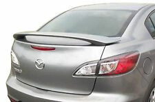 PAINTED MAZDA 3 FACTORY STYLE REAR WING SPOILER 2010-2013