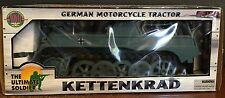 "The Universal Soldier WWII German Kettenkrad Vehicle for 12"" Figures - Brand NEW"