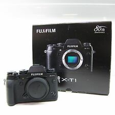Fujifilm X serie X-T1 16.3MP Digital SLR Kamera - Schwarz (Nur Body) -BB