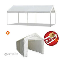 Caravan Canopy 10' X 20' Domain Carport Garage Sidewall Enclosure Bundle 200sqft