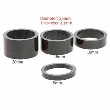 "MTB Bike Bicycle Cycling Headset Spacer Washer 5/10/15/20MM Set Fit 1-1/8"" Stem"