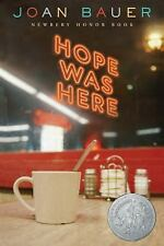 Hope Was Here - Joan Bauer (Trade Paperback) Newbery Winner YA/Teen Fiction