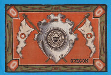 1910s B16 Tobacco Felt UNIVERSITY OF OREGON college seal  Hockey theme