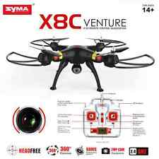 Syma X8C 2.4Ghz 6-Axis Gyro RC Quadcopter UAV RTF OVNI 2MP HD Cámara Negro