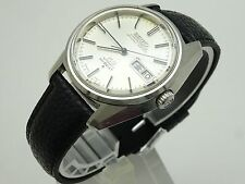 Vintage 1973 JAPAN KING SEIKO CHRONOMETER WEEKDATER 5626-7041 25Jewels Automatic