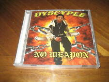 Dyscyple - No Weapon - Midwest Rap CD Spanish Kid Apostle I.P. Damingus Rollah