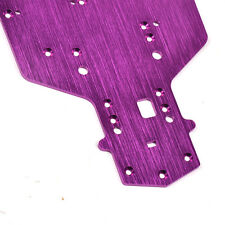 Purple 3MM Racing Aluminum Chassis 03001 Fit 1:10 RC Car HSP 94123 94103