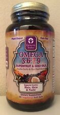 (New) Genesis Today Omega 3-6-7-9, 90 Vegetarian Soft Gels