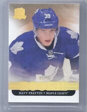 11-12 2011-12 THE CUP MATT FRATTIN GOLD ROOKIE PARALLEL /25 126 MAPLE LEAFS M