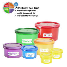 Food Storage Containers - Easy Way To Lose Weight Using Portion Control Get Fit