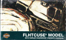 2010 Harley FLHTCUSE5 CVO Ultra Classic Electra Glide Owners Owner Manual Guide