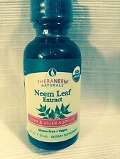 Theraneem Neem Leaf Alcohol Extract 1 Oz  Skin and Liver Support