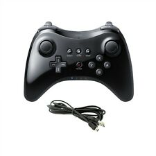 U Pro Gamepad Bluetooth Wireless Game Controller For Nintendo Wii U +USB Cable