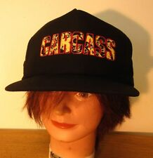 CARCASS snapback cap 1990s death-metal baseball hat UK grindcore gore logo