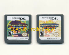 Lot of 2 Nintendo Digimon World Dusk + Dawn Version Game Card for NDS DSI