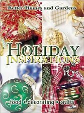 Holiday Inspirations : Food, Decorating, Crafts (2001, Hardcover)