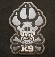 K-9 TACTICAL ISAF ATTACK DOGS OF WAR OEF OIF VELCRO® BRAND FASTENER PATCH