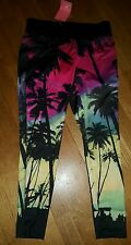 Only Play Ladies Tights tropical running yoga gym Large