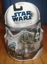 STAR WARS THE LEGACY COLLECTION COMMANDER GREE 1st DAY ISSUE NIB SEALED