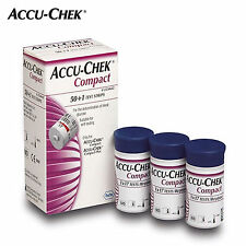 [Accu-Chek] Compact Test Strips Diabetics Blood sugger test (51pcs)