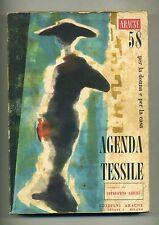 AGENDA TESSILE PER LA DONNA E PER LA CASA - 1958