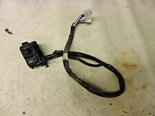 07 Honda FSC600 A FSC 600 ABS Silverwing left hand control switch turn signal