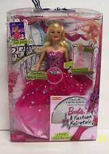Barbie A Fashion Fairytale Transforming Outfit Doll Lights Up with CD NEW Target