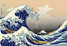 "01 The Great Wave Off Kanagawa - Japanese Art Print 20""x14"" Poster"