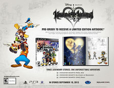 Kingdom Hearts HD 1.5 Remix Limited Edition [PlayStation 3 PS3, Action RPG] NEW