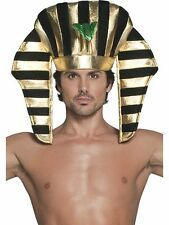 Fancy Dress Costume Cleopatra Egyptian Pharaoh Black and Gold Headdress (SM30284