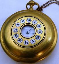 "MUSEUM Oversize Verge Fusee Repeater Doctors Skull ""Memento Mori"" pocket watch"