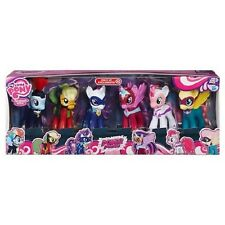 My Little Pony Power Ponies Collection Pack Figures Figurine Set 6 Pals