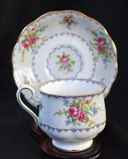 Vintage ROYAL ALBERT Bone China England PETIT POINT CHINA Set Cup & Saucer