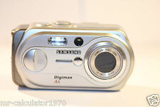 Samsung Digimax A6 6.0MP Digital Camera - Silver