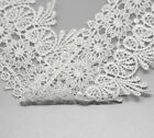 "5 Yards(about 4.6M) White Lace Edge Trim 3-1/8"" wide"
