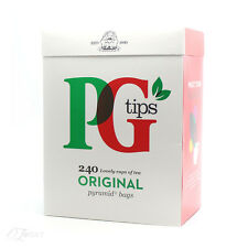 New PG Tips 240 Original Pyramid Tea Bags