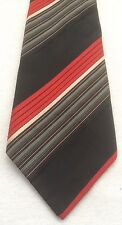 Vintage 1970s Kipper Wide Tie Retro Red Black St Michael Excellent Condition