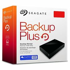 Seagate Backup Plus 5TB Desktop External Hard Drive USB 3.0 STDT5000100