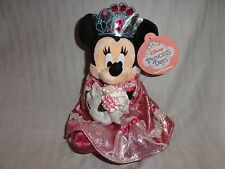 Tokyo Disneyland Princess Minnie Mouse Disney Princess Day Plush Toy Doll w/ Tag