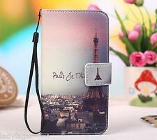 Funda libro estampado portatarjetas PU piel Alcatel one touch idol 2 mini