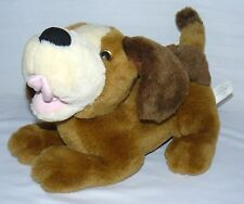 TAN AND CREAM BATTERY OPERATED PUPPY DOG INTERACTIVE SOFT PLAY TOY