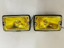 Peugeot 205 CTI driving lights lamps NEW Yellow Lens / Clear Glass