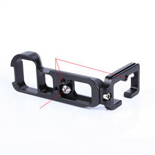 Metal Quick Release L-Plate Bracket Hand Grip for Sony A7M2 A7R II A7S II DSLR