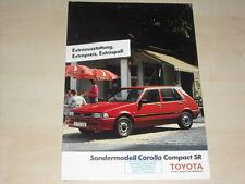 44968) Toyota Corolla compact SR Prospekt 198?