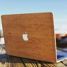 "MacBook Apple  Pro Air 11""/13""/15"" Wood wooden Skin cover custodia legno"